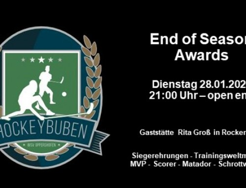 End of Season Awards 2019